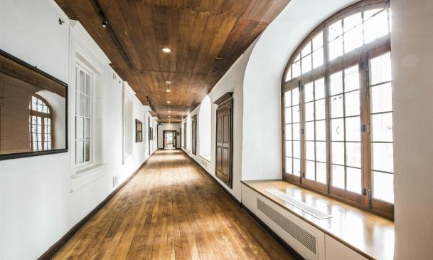 Corridor de l'aile du Noviciat