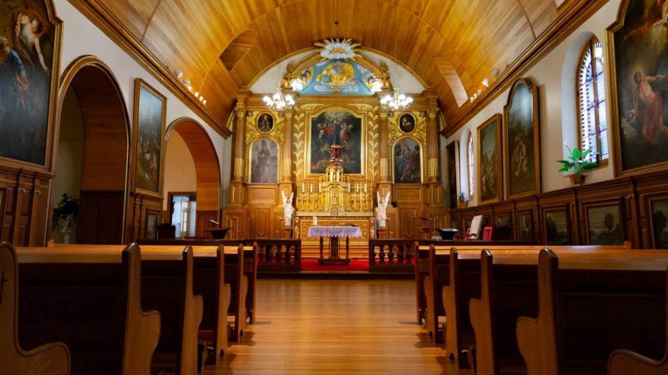 L'Église Notre-Dame-des-Anges.