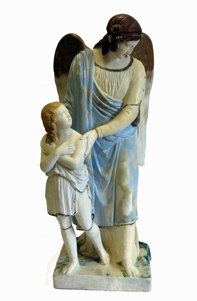 Statue de l'Ange gardien, fin 19e siècle