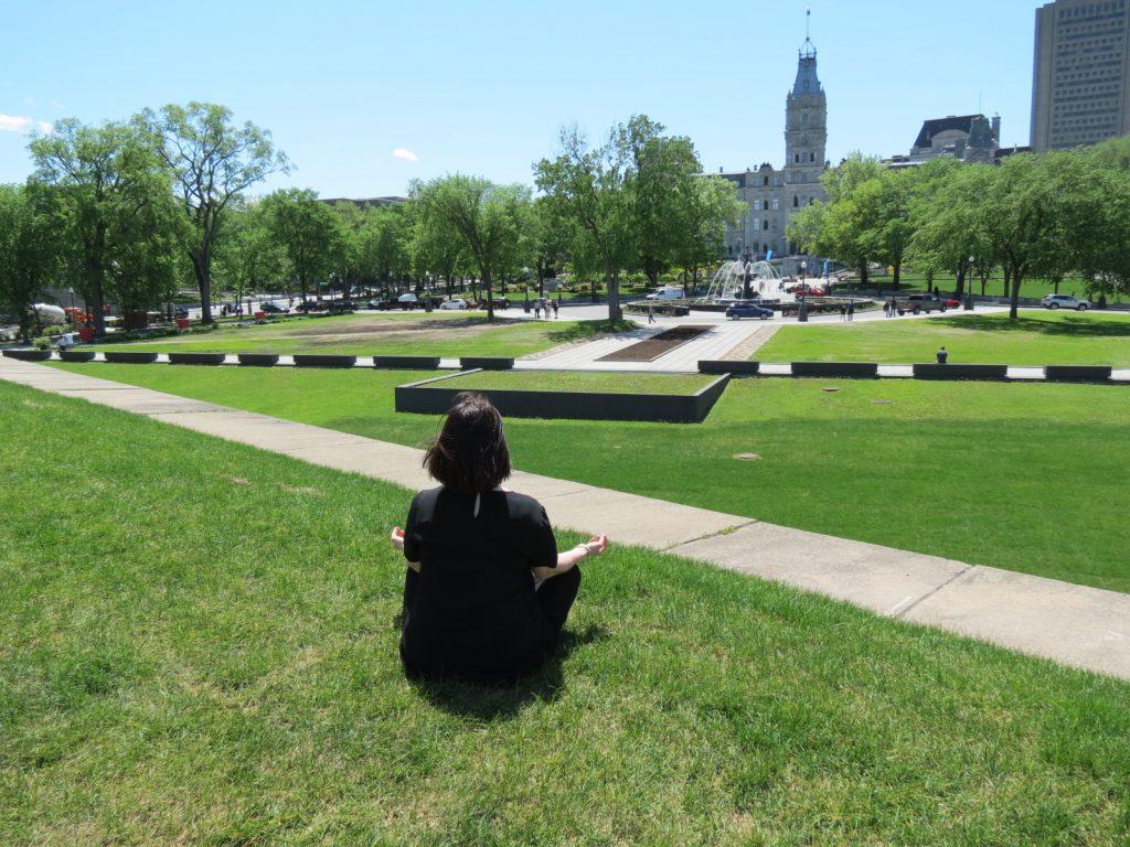 Le parc de l'Esplanade