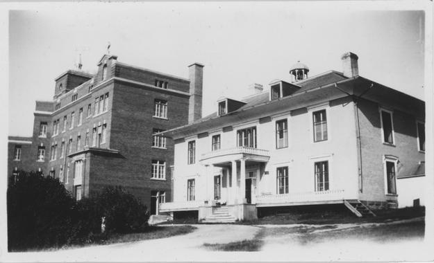 Premier monastère et premier hôpital de Gaspé