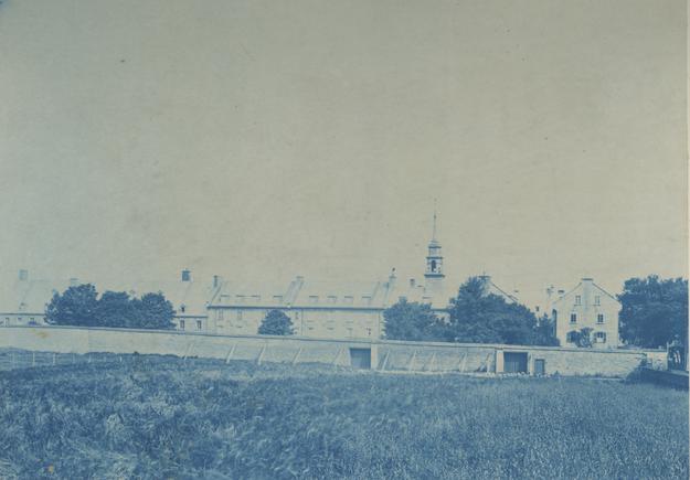 L'hôpital général en 1867