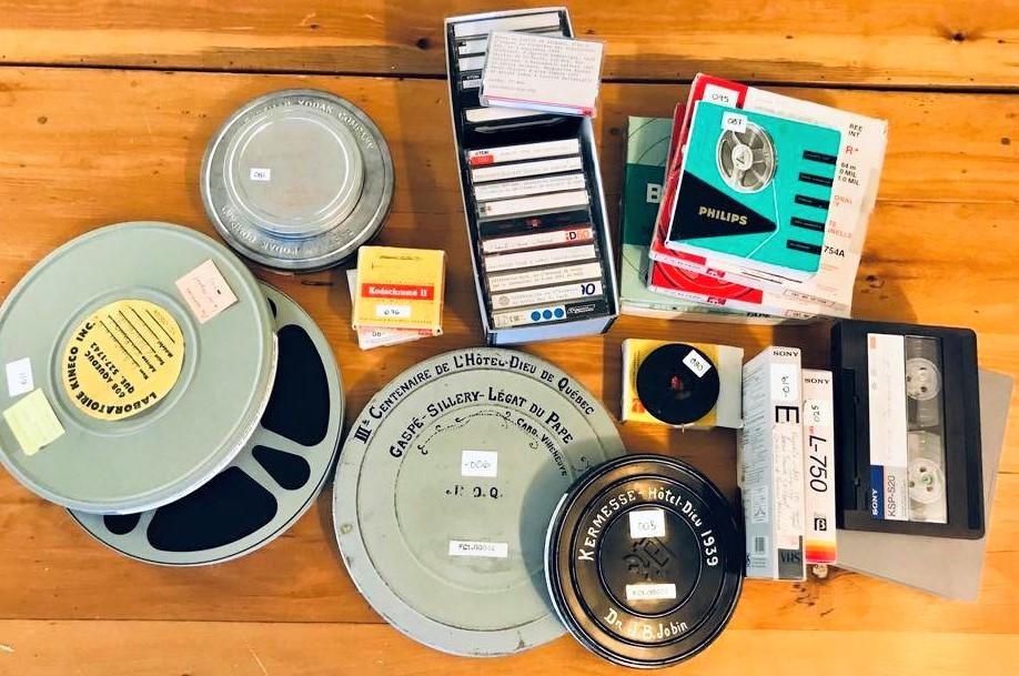 8 mm et 16 mm, cassettes audio, cassettes vidéo U-matic, Betamax et VHS, découvertes, fascinantes