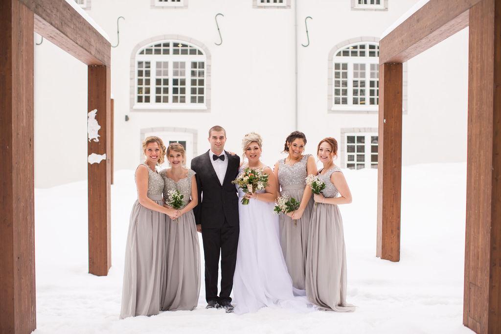 mariage hivernal au Monastère des Augustines